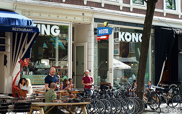 King Kong Hostel in Rotterdam